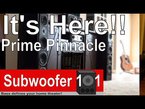 **NEW** SVS Prime Pinnacle Tower Speakers released today!!