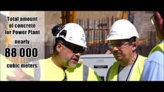 Ponad cztery doby ciągłego betonowania na budowie Elektrowni Turów