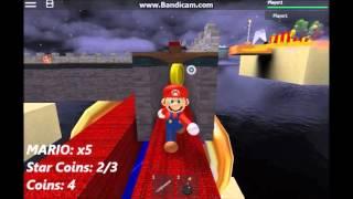 Super Mario 3D Roblox World Complete World 7