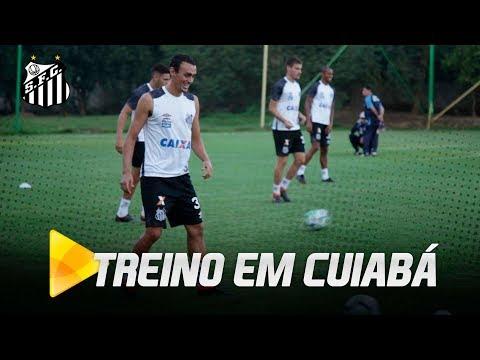 Santos FC treina em Cuiabá