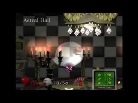 Luigi's Mansion (PAL) Hidden Mansion Playthrough Area 3
