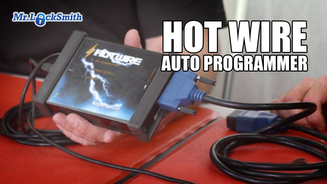 Review Hot Wire Automotive Key Programmer | Mr  Locksmith Video