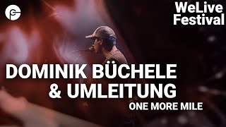 Dominik Büchele & Umleitung - One More Mile | WeLive Festival | Live im Schlachthof | Corona Special