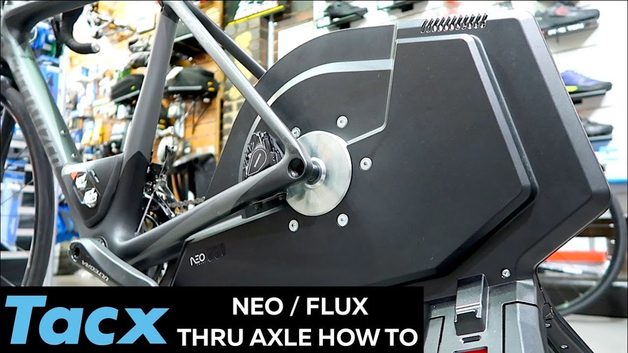 TACX Neo / Flux Smart Trainer Thru Axle Conversion - How To