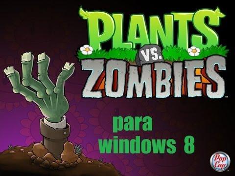 como descargar e instalar plantas vs zombies completo windows 8 y 7