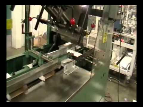 5D5471 USED Ceco 42B, Horizontal Glue, Semi Automatic Cartoner, Packaging Machinery