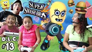 SPONGEBOB vs. KRABBY PATTY! Super Smash Bros DLC #3 FINALE (FGTEEV Dorky Little Characters) SSB #13