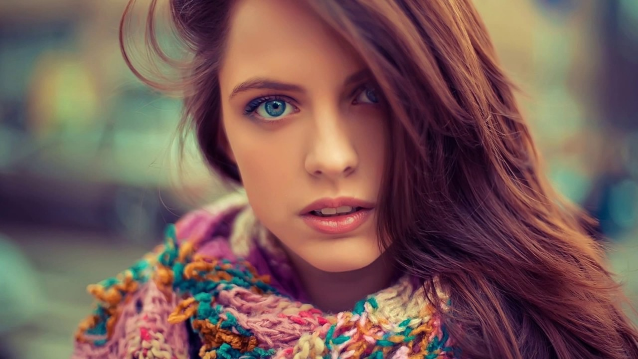 Top 10 Beautiful Girls With Blue Eyes Youtube