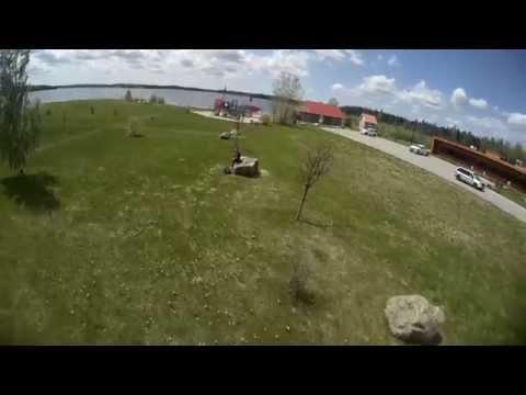DRQ250 flips and rolls