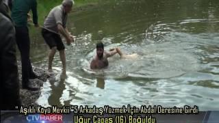 Abdal Deresine Yüzmek İçin Giren Uğur Çapaş Boğuldu