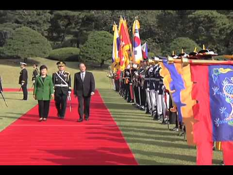 Official Welcome Ceremony, Republic of Korea 10/17/2013