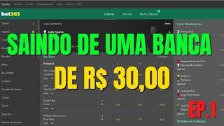 ALAVANCANDO UMA BANCA DE R$30,00 (PROJETO ALAVANCAGEM. EP1)