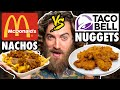 McDonald's Taco Bell Mashup Menu Taste Test