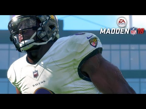 MADDEN 18 CAREER MODE - LAMAR JACKSON PROVES WHY HE IS THE MVP!