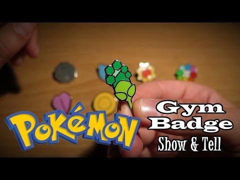 ASMR Whisper: Pokémon Gym Badges Show & Tell
