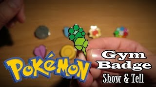 ASMR Whisper: Pokémon Gym Badges Show & Tell