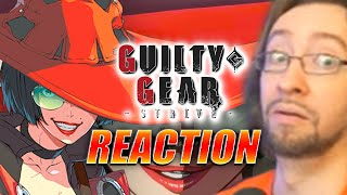 MAX REACTS: I-No - Guilty Gear Strive Trailer