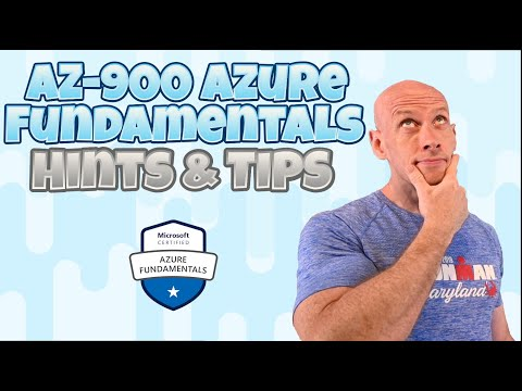 AZ-900 Azure Fundamentals Hints and Tips