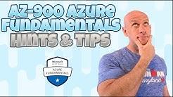 AZ-900 Azure Fundamentals Hints and Tips