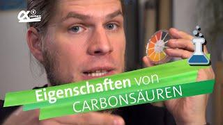 Carbonsäuren und ihre Eigenschaften | alpha Lernen erklärt Chemie