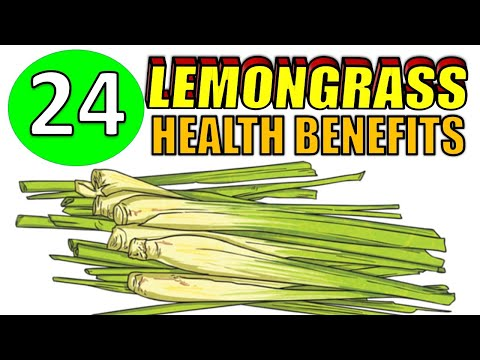 24 Health Benefits of LEMONGRASS including Hair, Skin & Weight Loss