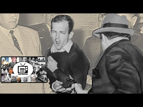 The Murder Of Lee Harvey Oswald By Jack Ruby, Real Footage!!! November 24th 1963.