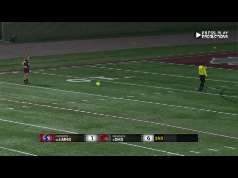 DHS Girls Soccer vs. Lee Magnet High - LHSAA Division 2 Playoffs Rd. 2 (2019)