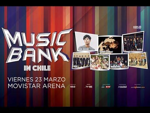 MUSIC BANK CHILE 2018 EN VIVO