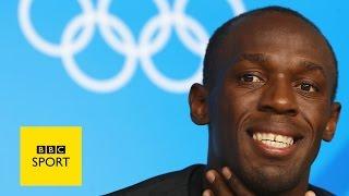 Usain Bolt meets Michael Johnson - BBC Sport