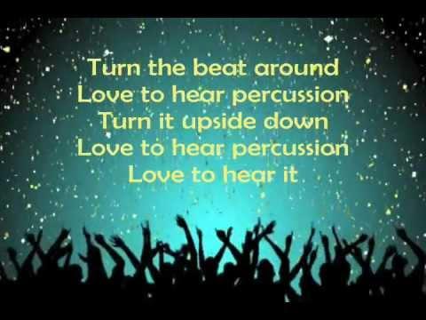 Jessica Sanchez - Turn The Beat Around (Studio Version with Lyrics) American Idol 3/14/12
