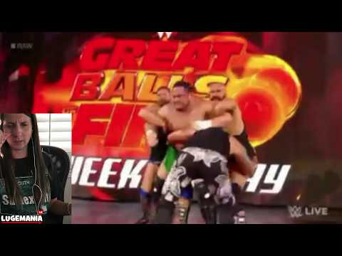 WWE Raw 6/26/16 Samoa Joe Surpirses Brock Lesnar