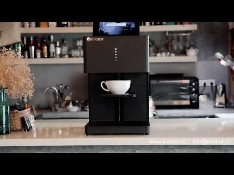 Coffee Printer- A Magical Machine Can Print Image On Your Coffee