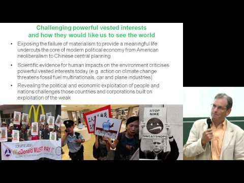 Clive Spash: Scenarios for a post-growth economy - Degrowth Leipzig 2014