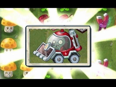 Plants Vs Zombies 2 Nuevo Zombie Con Coche...