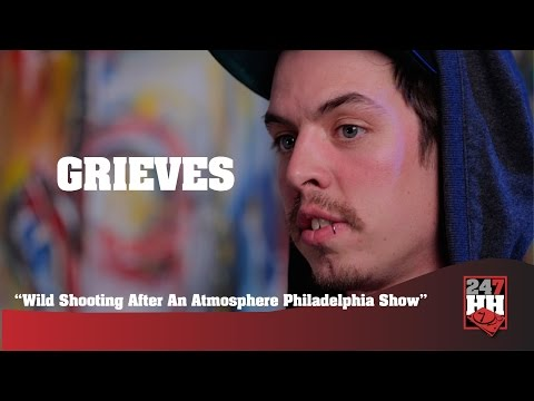 Grieves - Wild Shooting After An Atmosphere Philadelphia Show (247HH Wild Tour Stories)