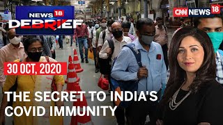TB, Pollution & Adulterated Food: The Secret To India's COVID Immunity? | Debrief | CNN News18