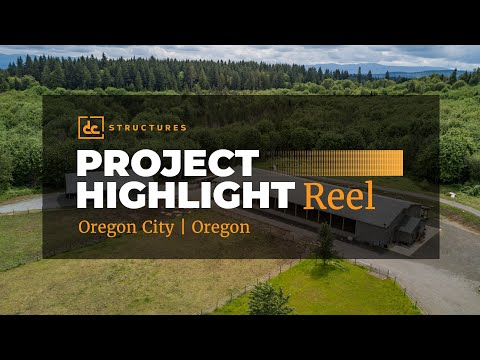 DC Structures Project Tour - Riding Arena and Apartment - Oregon City, OR