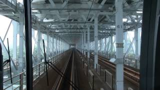 JR四国5000系前面展望 快速マリンライナー 瀬戸大橋線 岡山→高松 thumbnail