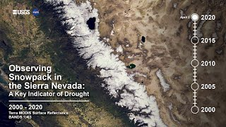 Observing Snowpack in the Sierra Nevada: 2000 - 2020
