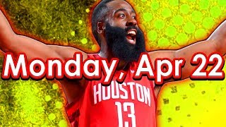 NBA DraftKings Picks + FanDuel Picks 4/22/2019