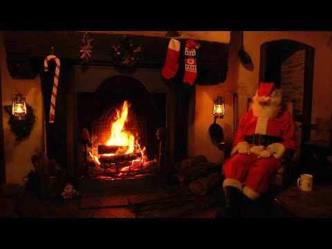 1 HOUR Best Christmas Jazz music & Crackling Christmas ...
