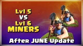 Lvl5 vs Lvl6 MINERS! | After JUNE Update | TH12 War Strategy #04 | COC 2018 |