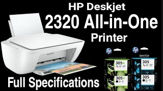 HP Deskjet 2320 All in One Printer Full specifications and Review