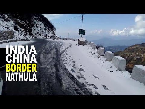 The way of Nathula Pass (Gangtok) | Nathula Pass is a mountain pass in the Himalayas | Tsongmo Lake