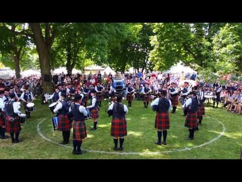 78th Fraser Highlanders Kincardine Highland Games 2016 - MSR