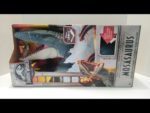Action Figure Review #13 Jurassic World: Fallen Kingdom - Real Feel Mosasarus