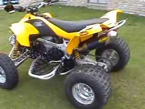 Can Am Ds 450 >> Can Am DS 450 - YouTube