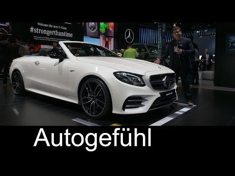 Mercedes-AMG E53 Convertible & Coupé Mercedes E-Class E-Klasse AMG - NAIAS 2018 - Autogefühl - Dauer: 13 Minuten