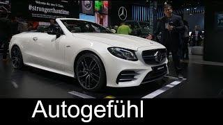 Mercedes-AMG E53 Convertible & Coupé REVIEW Mercedes E-Class E-Klasse AMG - NAIAS 2018 - Autogefühl