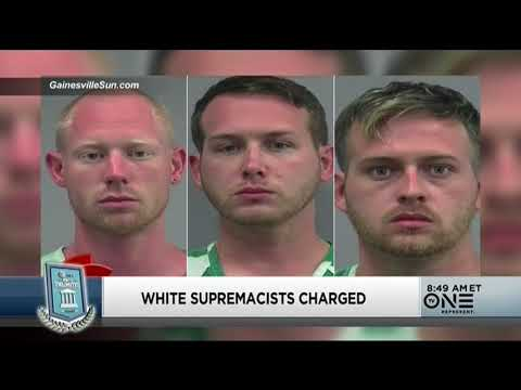 White Supremacists Charged For Attempted Murder, Richard Spencer's Hateful Speech Drowned Out